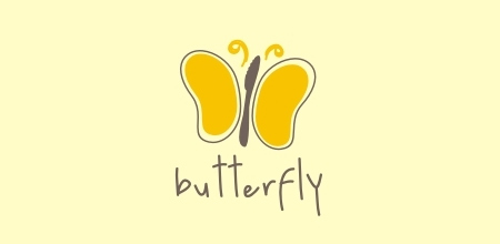 yellow butterfly logo