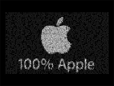 fototexto apple logo
