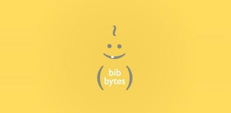 bib bytes yellow logo