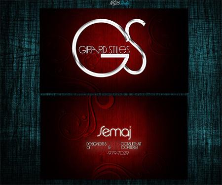 girard stiles business card