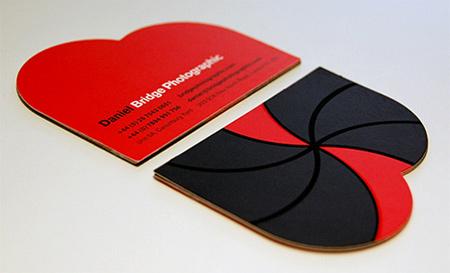 bridge photographic business card