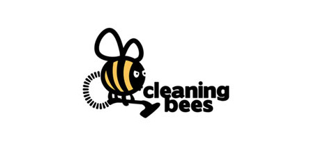 cleaning bees logo