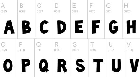 Toonish comic font