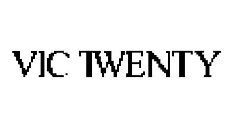 Vic Twenty pixel font