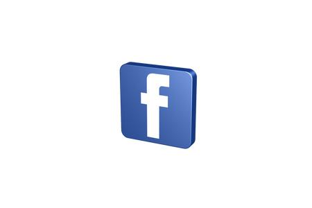 3D social icon