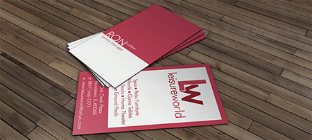lw business card