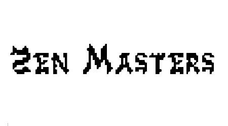 zen masters pixel font