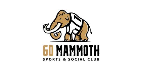 Go mammoth logo