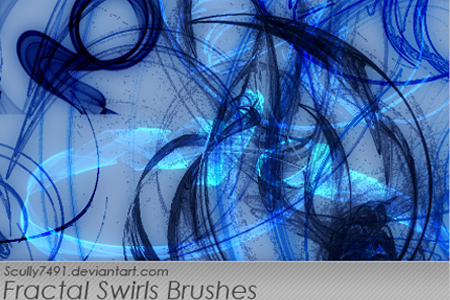 Fractal Swirls Brushes