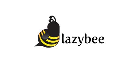 lazy bee logo