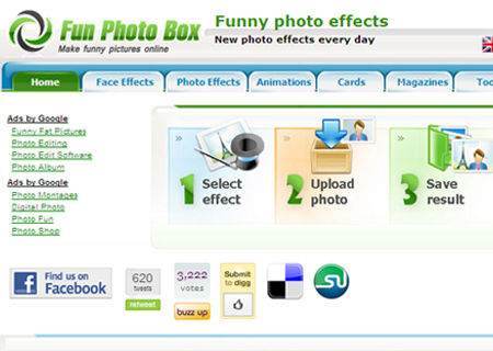 edit image online funny. FunPhotoBox lets you create funny photos and gift animations from your
