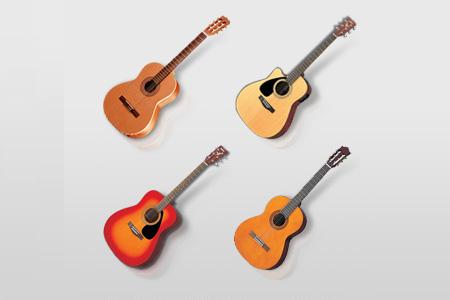 acoustic guitars win