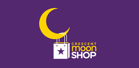 crescent moon logo