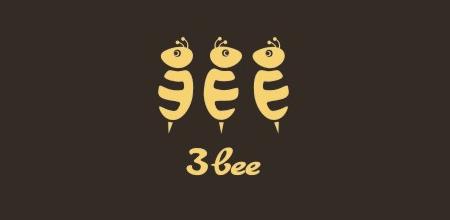 3 bee logo