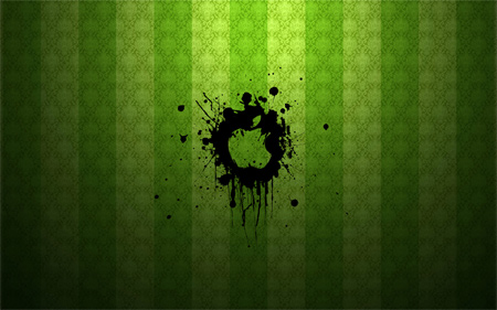green apple- wallpaper