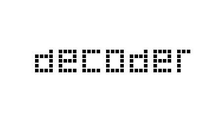 Decoder pixel font