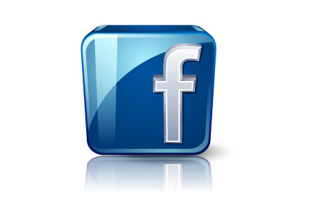high details social facebook icon