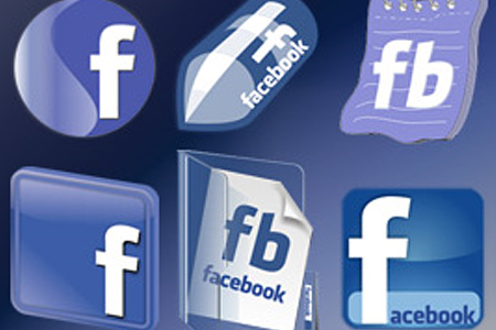 new cool facebook icon set