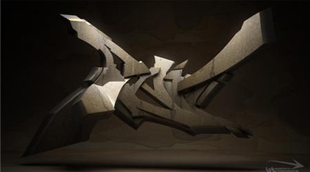 3D Graffiti-Raid