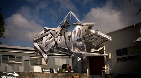 3D Graffiti Tterminate