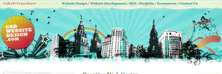 cadwebsitedesign
