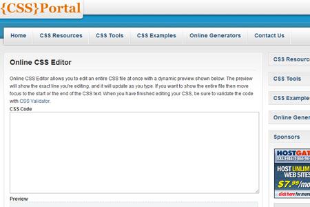 Online CSS Editor