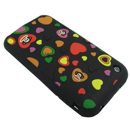 Paul Frank Hearts Silicone for iPhone 3G & 3GS