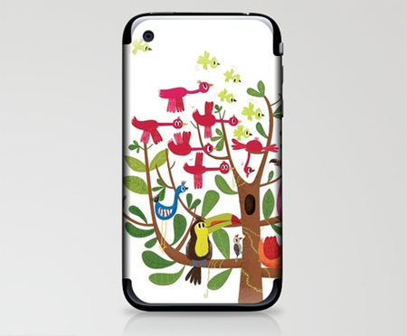 Summer Tree iPhone Skin