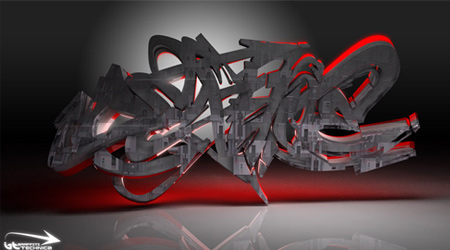 Deadline 3D Graffiti