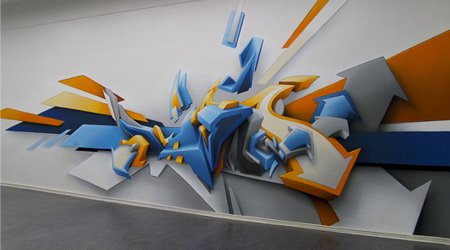 3D Graffiti Example 4