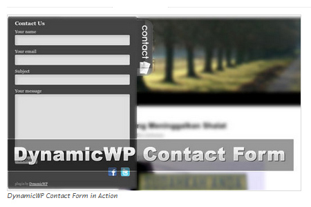 DynamicWP Contact Form