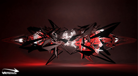 3D Graffiti-Sketch 57