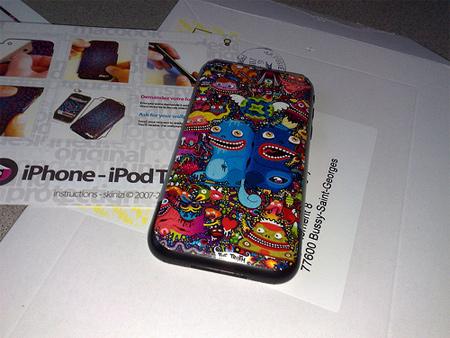 17032009150 iPhone Skin
