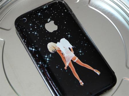 Angel Star iPhone skin