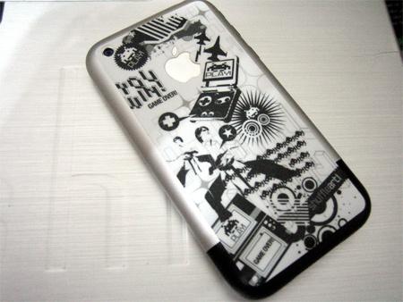 Shuffle Art iPhone-Play! (White)