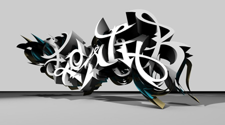 Flowjob-3D Graffiti