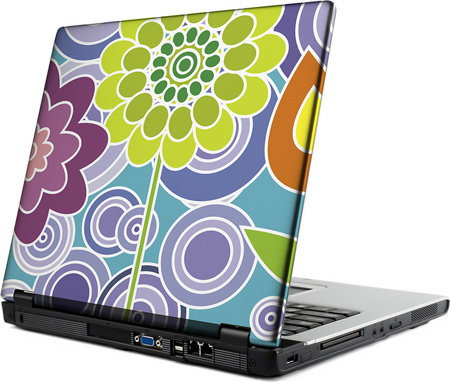 Laptop Skin Flowers