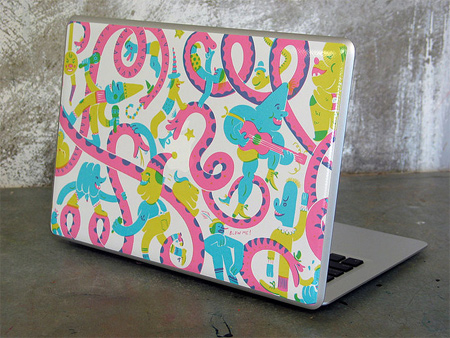Sac Magique Macbook Air Skin