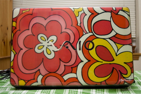 Flower Skinit Laptop Skin