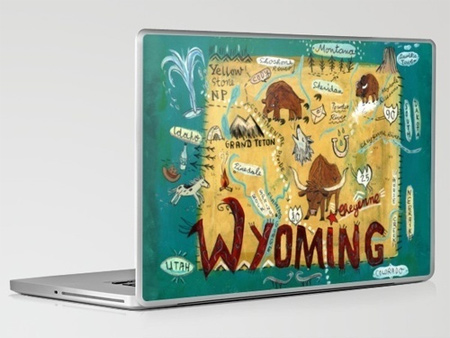 Skins and Prints on Society6 laptop skin