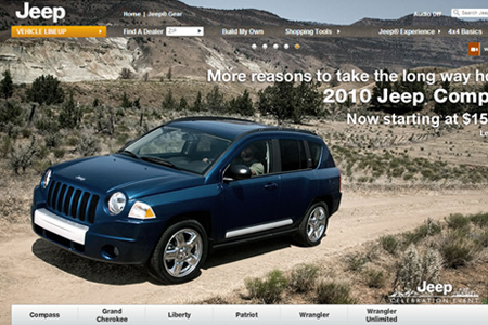 Jeep official website