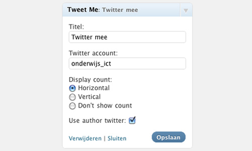 personal tweet me button