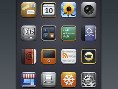 Deep iPhone Theme