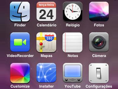icons iPhone Brazilian