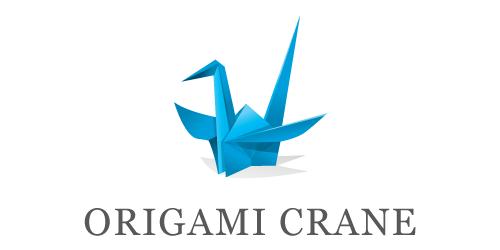 3D Origami Logo Step