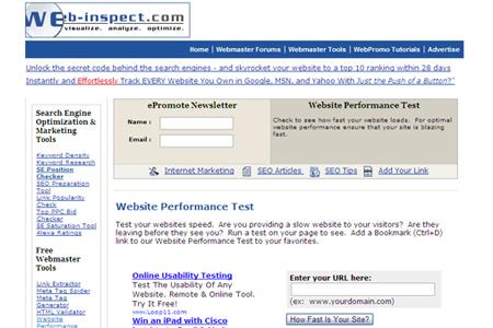 web inspect