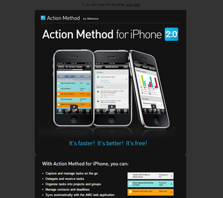 Action Method for iPhone