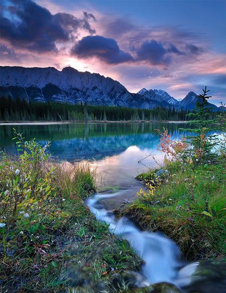 Spillway Lake Inlet Stream