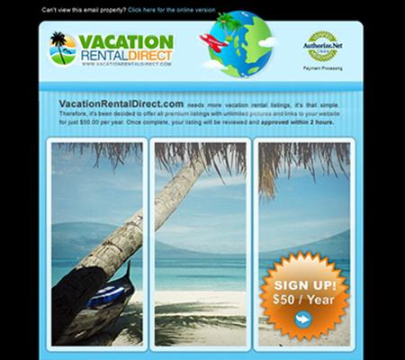 VacationRentalDirectEmail