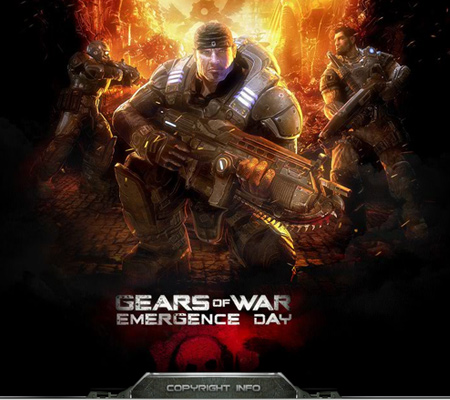 Gears of Wars-Emergence Day